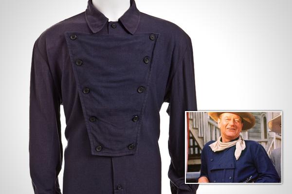 Heritage to auction screen used John Wayne wardrobe this