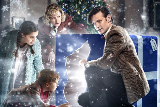 Merry Christmas! Doctor Who Christmas special airs tonight on BBC ...
