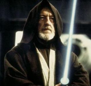 Sir Alec Guinness as Ben Kenobi