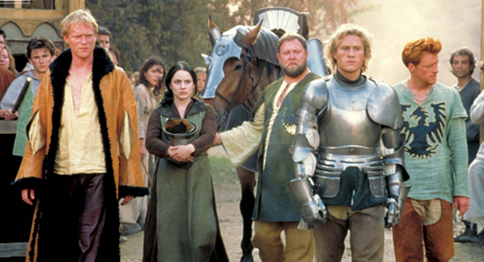 a knights tale Paul bettany and alan tudyk in a knight's tale (2001) apollonia kotero at an  event for a knight's tale (2001) ben chaplin at an event for a knight's tale (2001 ).