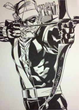 Green Arrow by Michael Golden