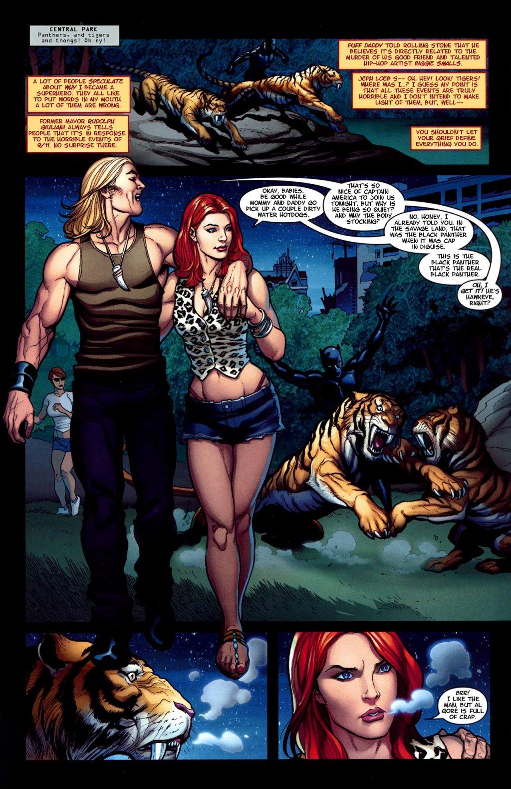 Ka Zar Marvel 31