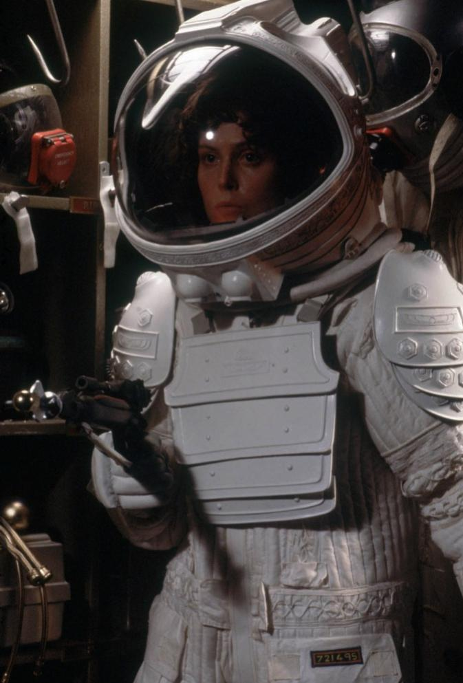 her space suit - photo #15