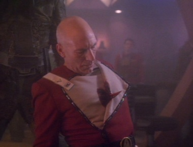 Picard with bionic heart