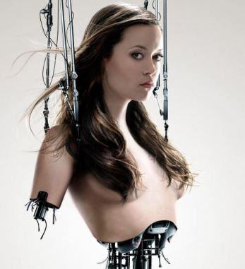Summer Glau cyborg Terminator