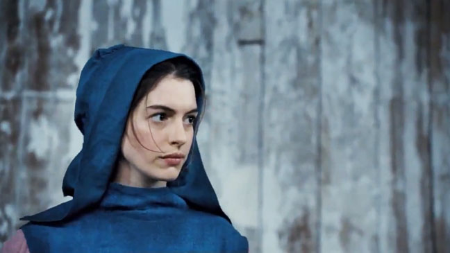 First look—Anne Hathaway, Hugh Jackman and Russell Crowe ...