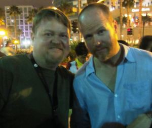 SDCC 2012 Bunce and Whedon