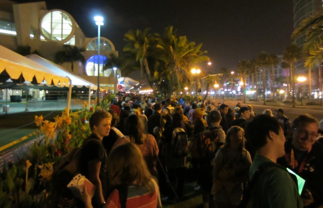 SDCC 2012 Overnight crowd