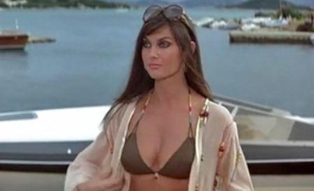 Caroline Munro as Naomi in The Spy Who Loved Me | borg.com