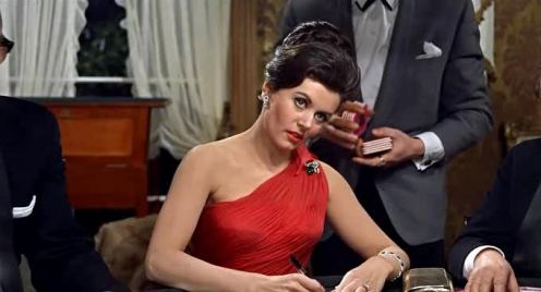 eunice-gayson-as-sylvia-trench-in-dr-no.