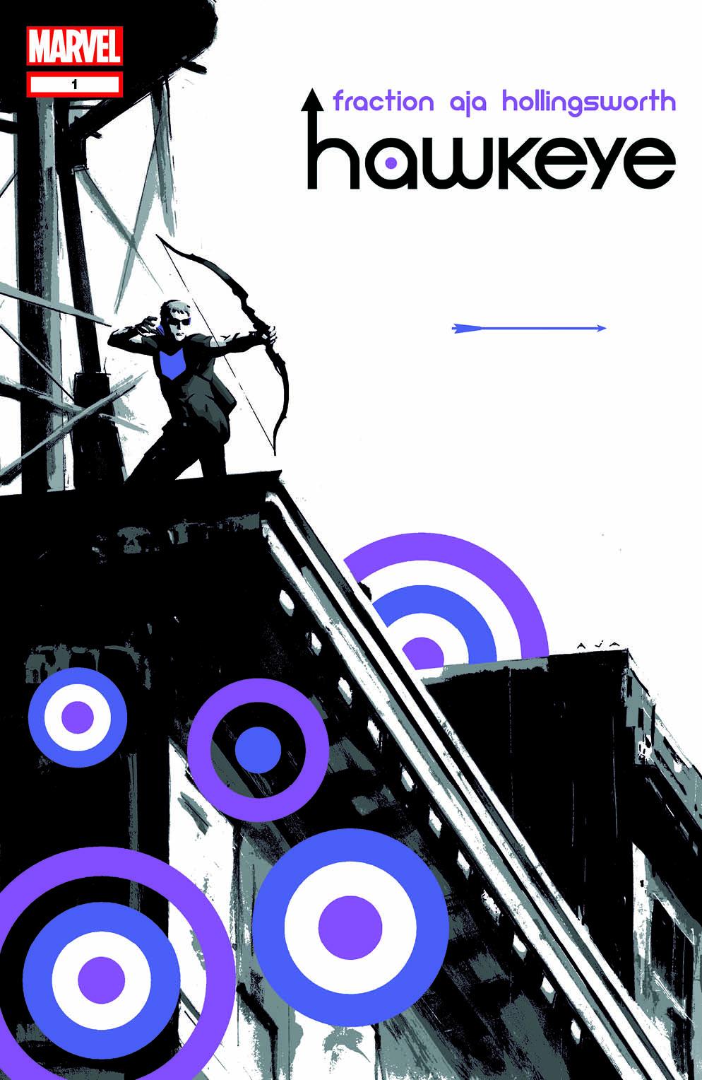 Hawkeye cover 1