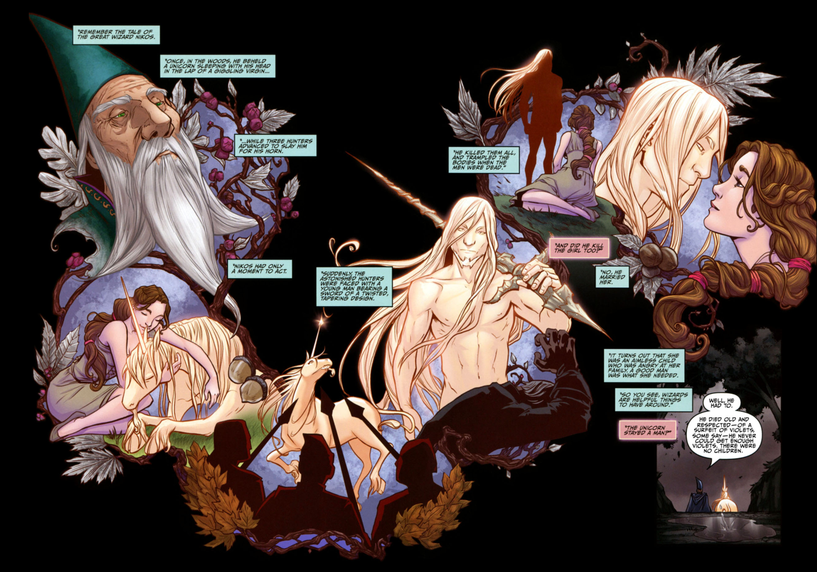 The Wood Between the Worlds: The Last Unicorn: The Graphic Novel