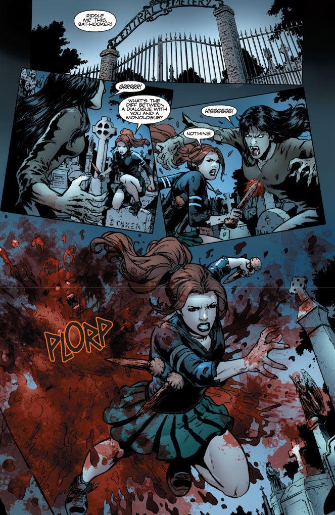 Vampirella takes on Buffy (sort of) in new crossover book | borg