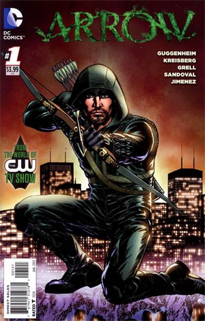Arrow Issue 1 Grell variant cover