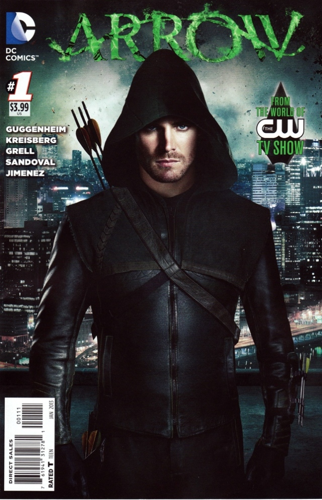 Arrow Issue 1 regular cover