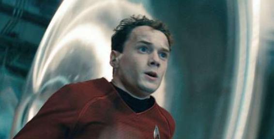Chekov gets the red shirt treatment