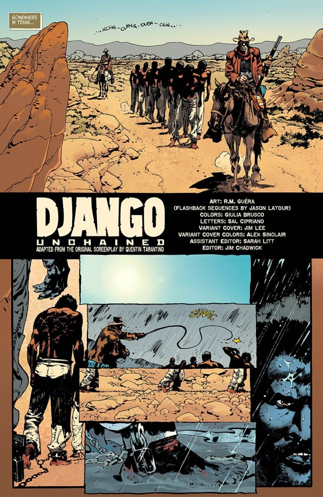 Django page one