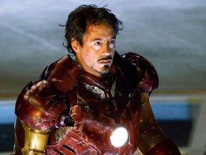 Downey as Iron Man