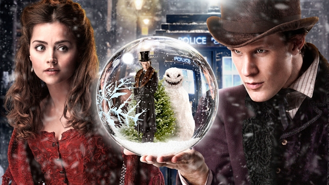 Dr Who Xmas Special poster