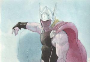 Esad Ribic Thor commission