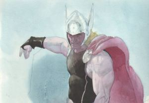 Esad Ribic Thor commission