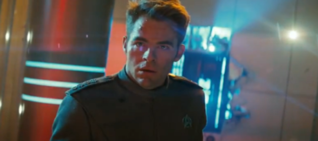 Kirk and lens flares