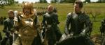 Knights on horseback inGiant