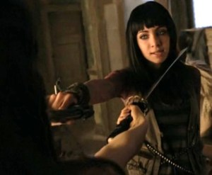 Ksenia Solo as Kenzi in Lost Girl
