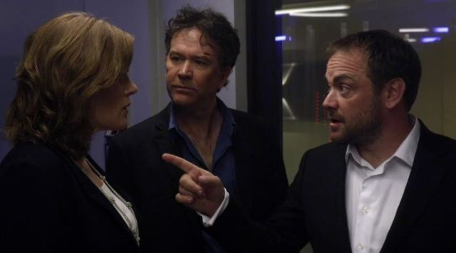Mark Sheppard in Leverage