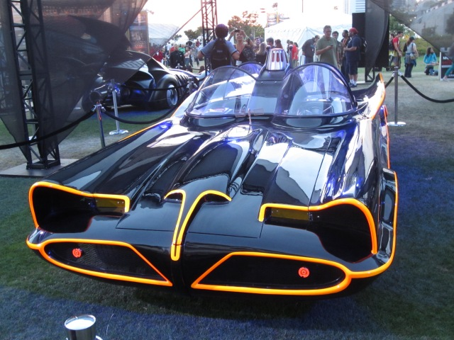 1966 Adam West Batmobile