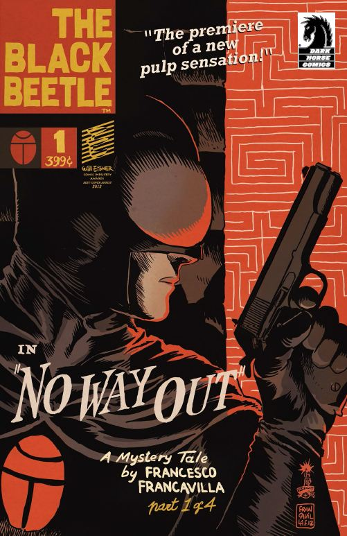 Black Beetle 1 cover Dark Horse