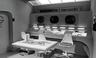 Burke chair used for the future of Doctor Who and Trek in the late 1960s