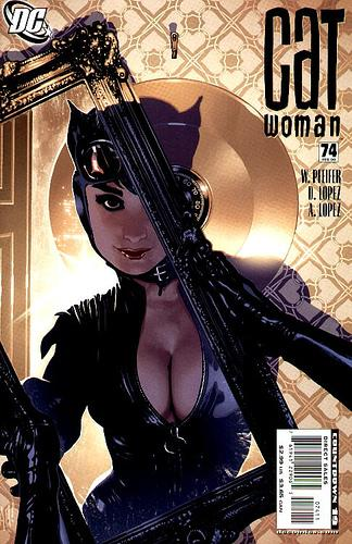 Catwoman cover issue 74