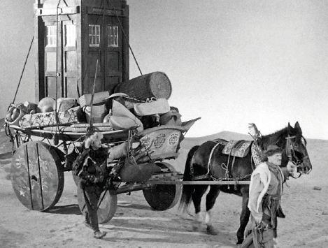Early TARDIS crossing the Gobi Desert