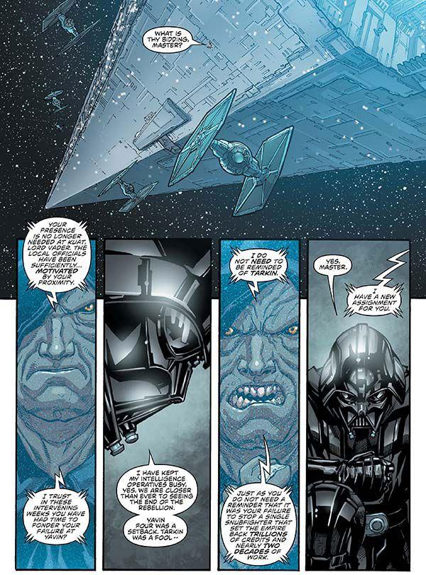 Emperor and Vader Dark Horse Star Wars