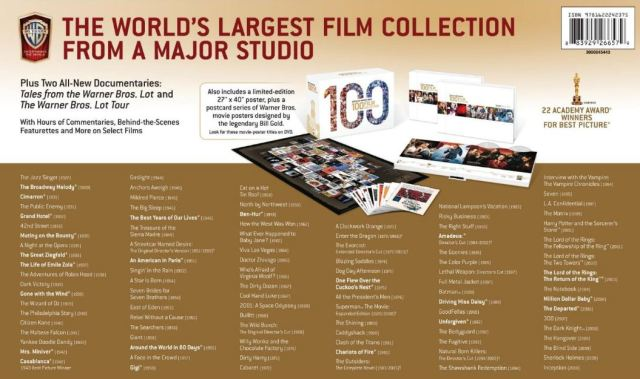 Movie list WB 100 Films