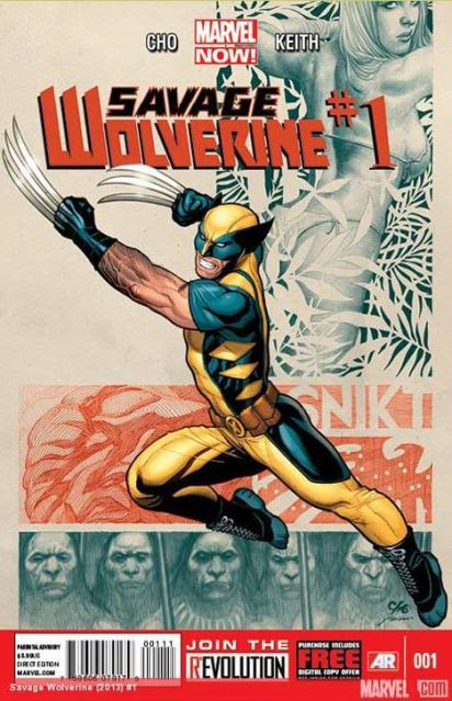 Savage Wolverine 1 cover