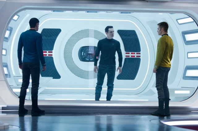 Villain in brig Star Trek Into Darkness copyright Paramount