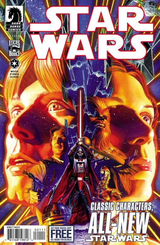 Star Wars Dark Horse 1 cover