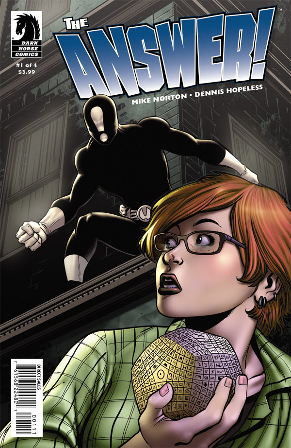 The Answer Issue 1 cover