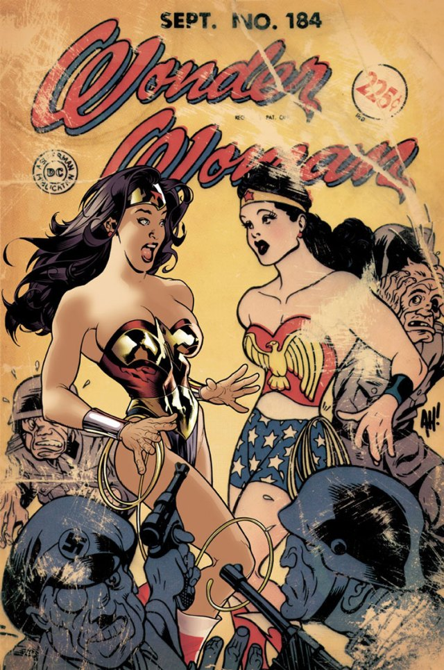 Wonder Woman cover 184