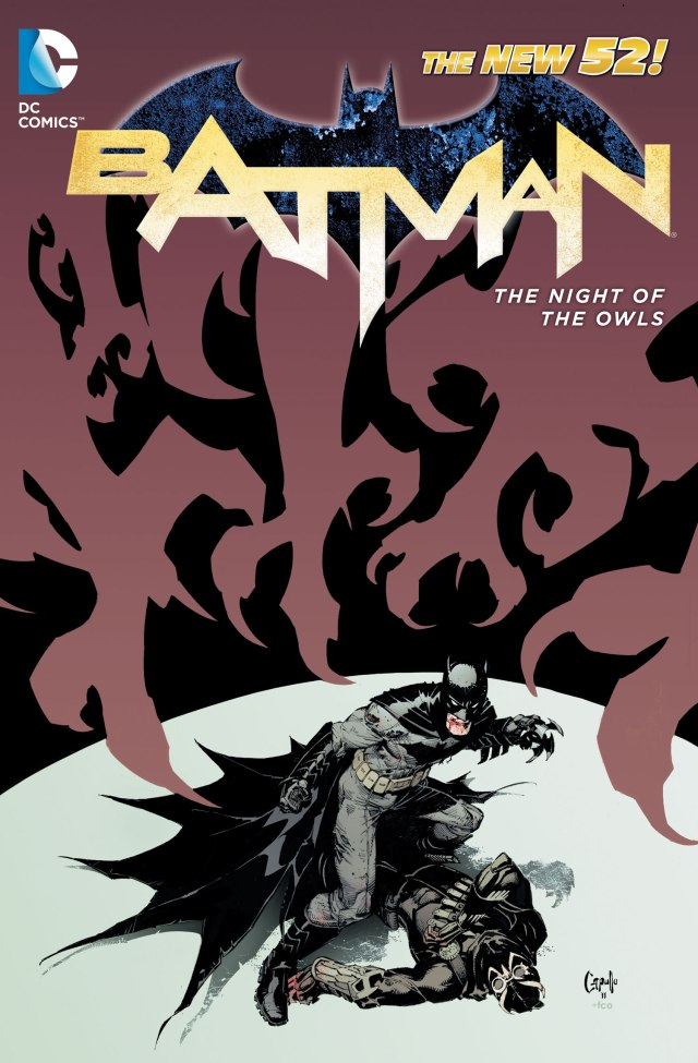 Batman Night of the Owls hardcover cover
