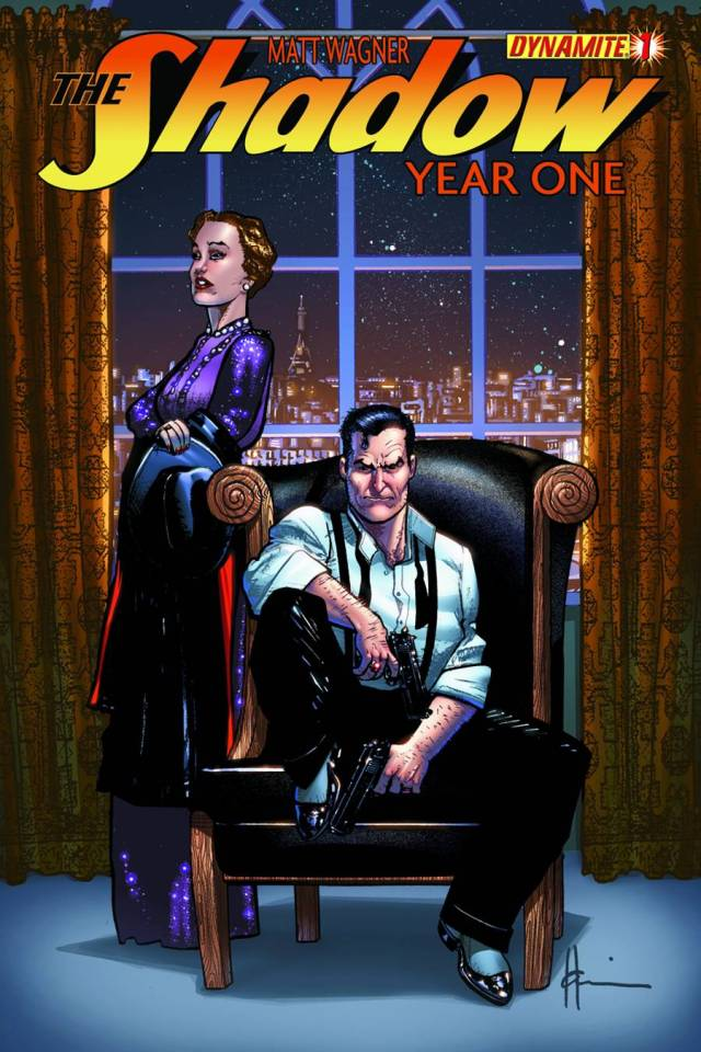 Chaykin Shadow Year One cover