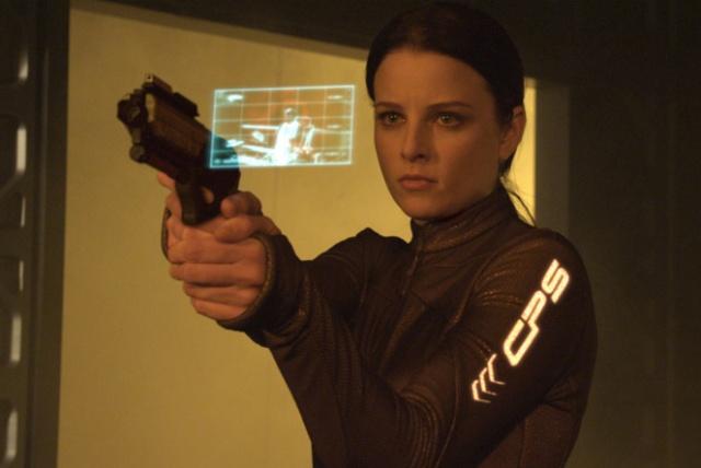 Continuum Rachel Nichols cop suit