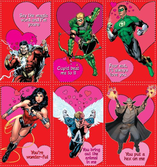 say happy valentine's day with your favorite superhero | borg, Ideas
