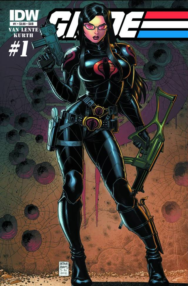 GIJoe Issue 1 IDW Publishing alternate cover