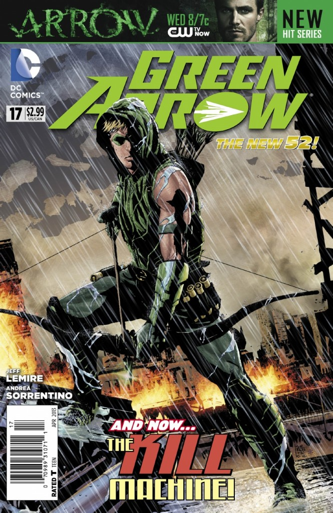 DC Comics re-ignites Green Arrow comic book series today with ...