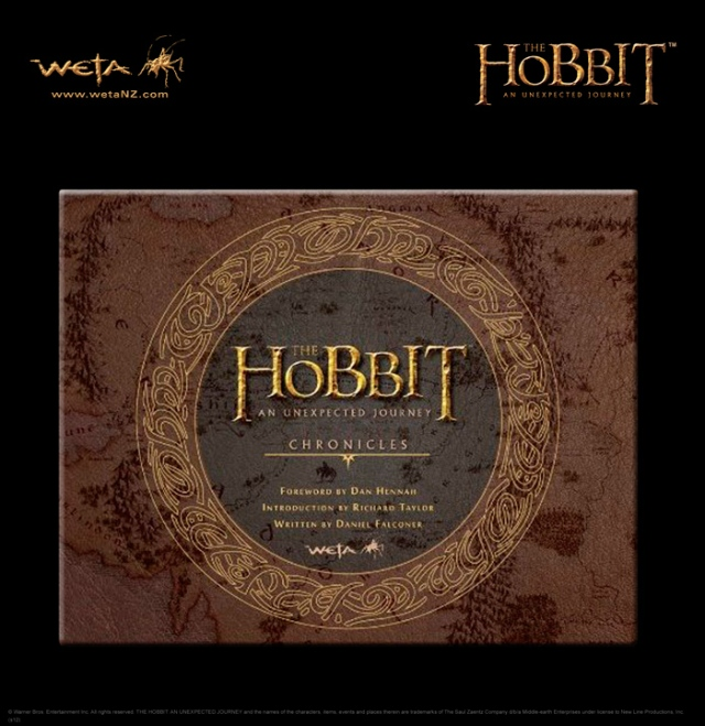 Hobbit book Chronicles from Weta