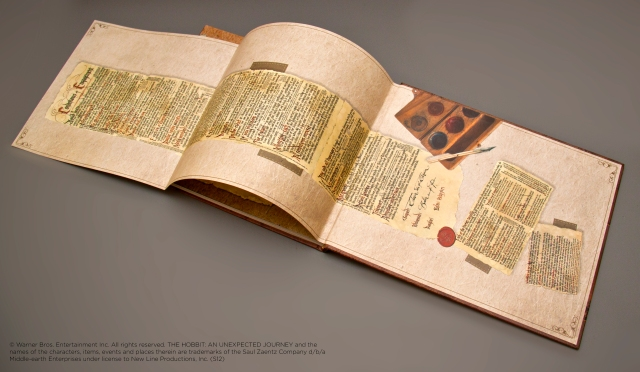 Hobbit contract in Weta Chronicles