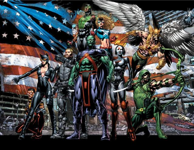 Justice League of America David Finch poster